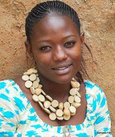 Ugandan jewelry: Balungi natural diamond necklace (https://www.facebook.com/pages/Balungi/238248076280867?fref=ts) and a beautiful KampalaFair dress.