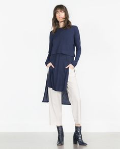 ZARA - WOMAN - TUNIC DRESS