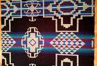 "PENDLETON WOOLEN MILL NEW WOOL FABRIC BLANKET REMNANT 33"" X 24"" BEAUTIFUL! - Beautiful, Blanket, fabric, Mill, Pendleton, remnant, Wool, Woolen"