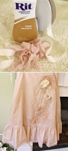 COLOR   TEA STAINED PINK ::