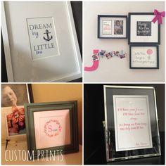 Custom Girl Prints