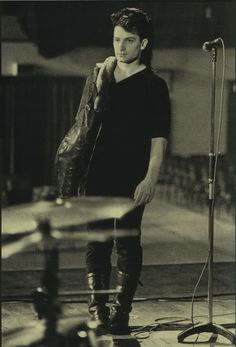 Bono filming Pride (in the Name of Love)