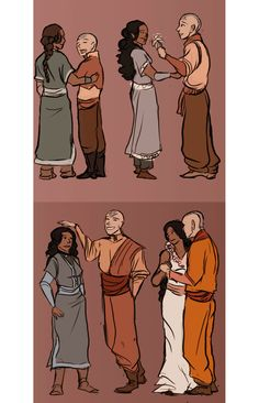 Avatar: The Last Airbender blog.  You have to click the link to see the whole picture...its pretty cool!