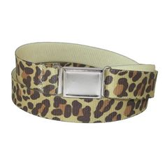 CTM Womens Plus Size Elastic Leopard Print Belt with Magnetic Buckle Leopard >>> Check out the image by visiting the link.