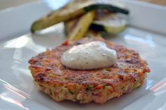 Salmon Cakes with Dill Pollen from�@PollenRanch�Pollen Ranch...