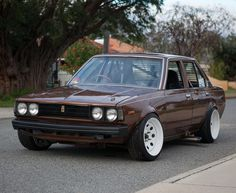 Corolla Ke70, Corolla Wagon, Toyota Corolla, Tuner Cars, Jdm Cars, Retro Cars, Vintage Cars, Datsun 510, Rims For Cars