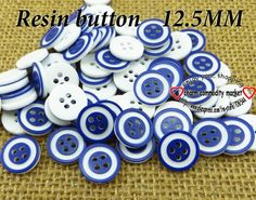 200PCS dark blue color resin buttons shirt clothing sewing button crafts R-112 $3,73