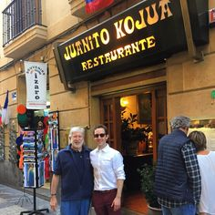 The people of Donostia Foods pay a visit to the Parte Vieja and Juanito Kojua in San Sebastian.