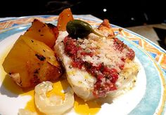 Roasted Cod with Tomato Caper Topping Great for Lent More