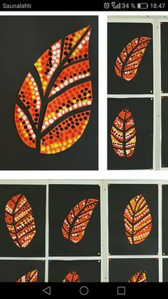 Kids will love making this fall leaf chalk pastel art using all of the gorgeous autumn colors! Use an easy pastel technique that is perfect for kids of all ages. Chalk Pastel Art, Chalk Pastels, Fall Crafts, Arts And Crafts, Fall Art Projects, Dot Art Painting, Art Lessons Elementary, Leaf Art, Halloween Art
