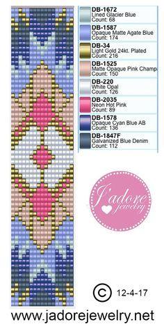 Image result for bead loom bracelet patterns
