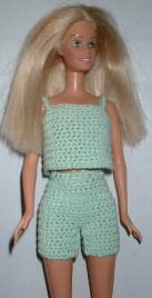 Barbie - Top & Shorts (free pattern)