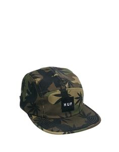 Image 1 ofHuf Plantlife Volley 5 Panel Cap