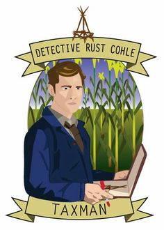 Why You should watch HBO's True Detective.   Rust Cohle Fan art by The Dame of all Trades