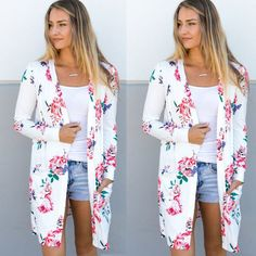 2017 Fashion Women's Loose Suits Summer Boho Coat Shawl Cardigan Tops Blazers-in Blazers from Women's Clothing & Accessories on Aliexpress.com | Alibaba Group