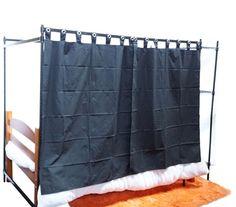 Over the Bed Shelf Supreme Privacy Frame Dorm Essentials Dorm Necessities College Supplies