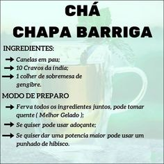 Chás e Sucos Bons para Emagrecer! Week Detox Diet, Dietas Detox, Detox Diet Drinks, Lemon Detox, Detox Diet Plan, Cleanse Diet, Body Detox, Stomach Cleanse, Health Cleanse
