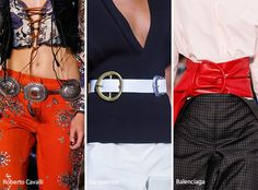 Spring/ Summer 2017 Accessory Trends: Statement Belts