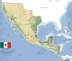 Imperio Mexicano, 1821.