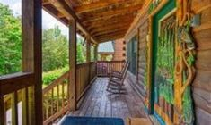 Shades of the Past -- Head out on the porch to listen to the sounds of nature while enjoying your favorite beverage Pigeon Forge Cabin Rentals, Bluff City, Front Rooms, Log Homes, Perfect Place, Beverage, Past, Porch, Beautiful Places