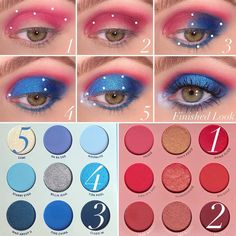 eyeshadow looks Main Squeeze & Blue Moon Eyeshadow Palettes Slice Crease and blend ablove crease Bottoms- Crease Colourpop Eyeshadow, Colourpop Cosmetics, Beauty Makeup Tips, Makeup Inspo, Makeup Ideas, Makeup Geek, Eyeshadow Looks, Eyeshadow Makeup, Blue Eyeshadow