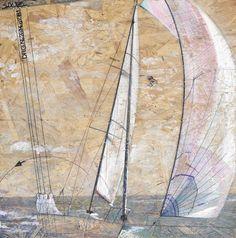 DRG.n•2014.07.B1 www.philippesaltet.com #boat #sea #wood #painting #osb