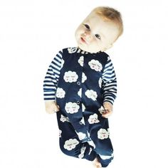 2536553ff 2017 New Fashion Baby Romper Clothing Body Suit Newborn Long Sleeve ...