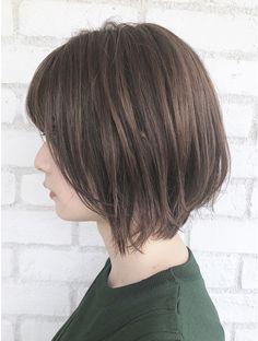 Hair Tutorials For Medium Hair, Medium Hair Styles, Long Hair Styles, Asian Short Hair, Asian Hair, Shot Hair Styles, Japanese Hairstyle, Hair Dos, Hair Inspo