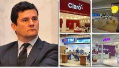 Por que Sergio Moro não julga o escândalo dos R$ 100 bilhões às teles?