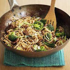 Quick Beef & Broccoli Noodles Recipe