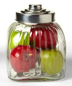 Look what I found on #zulily! Glass 84-Oz. Canister by Global Amici #zulilyfinds