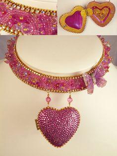 Heart of Hearts - Swarovski Crystal Necklace
