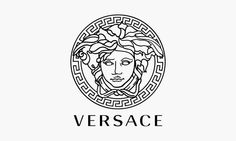 The company Versace uses Medusa in their famous logo. It is a drawing of her before she is cursed as a monster. The Versace website explains how she represents their brand due to her beauty and power she holds. Logo Versace, Marca Versace, Versace Tattoo, Gianni Versace, Atelier Versace, Versace Versace, Versace Glasses, Luxury Logo, Monogram Logo