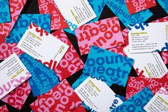 Boundless Theatre by Spy, United Kingdom. #branding #design #businesscards