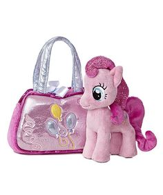 Another great find on #zulily! Pinkie Pie Cutie Purse & Plush Toy #zulilyfinds