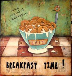 """""""Breakfast time!"""""""
