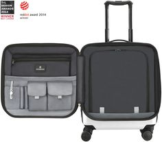 Victorinox Travel Gear - Hardside Luggage - Spectra™ 2.0 Dual-Access Extra-Capacity U.S Carry-On