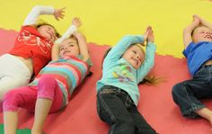 SMART STEPS: LET 'EM ROLL! Gross motor activity to help children with sensory and motor development.