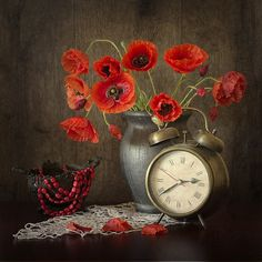time for poppies - null