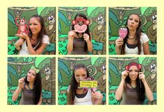 monkey banana jungle photo booth props perfect by thepartyevent