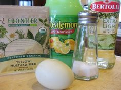 How to make homemade mayonnaise!