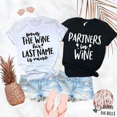 Looking for cool and chic t shirts for you bride squade or bachelorette party? T Take a look at our favorite bridal shower and bachelorette party T shirts. Bachelorette Themes, Bachelorette Party Shirts, Bachelorette Weekend, Bachlorette Shirt Ideas, Ideas Party, Before Wedding, Wedding Tips, Wedding Planning, Party