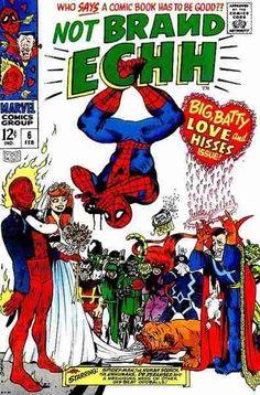 Not Brand Echh Vol 1 Issue 6 #ComicBookWeddings