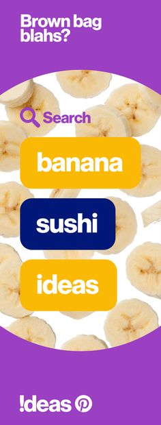 Here's an idea: Do an idea search on Pinterest to find fresh ways to go bananas with school lunches this year!