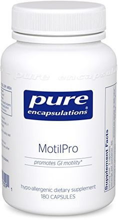 Pure Encapsulations - MotilPro - Hypoallergenic Dietary Supplement to Promote Healthy Gut Motility* - 180 Capsules -- You can get additional details at the image link.