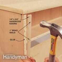 Folding workbench plans from Family Handy Man