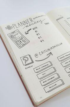 Bullet Journal SOCIAL MEDIA Planner !
