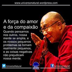 Gostaria de explicar qual é a importância do amor e da compaixão. É importante saber o que é compaixão, algumas vezes pensamos que é pena, mas isso não é compaixão. Compaixão é o senso de preocupaç...