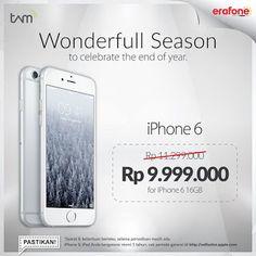 Harga iPhone 6 Akhir Tahun Turun Menjadi Rp 9.999.000 di Erafone b10a74bb92