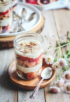 Blood Orange & Amaretto Mascarpone Trifles